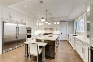 Custom Kitchen renovation Mississauga